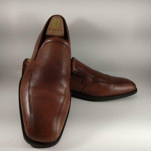ECCO Loafer Brown Mens Shoes Sz 9